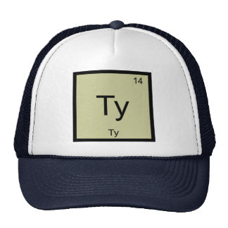 Ty Name Chemistry Element Periodic Table Cap