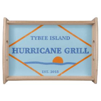 tybee island beach vacation summer ocean sunset serving platter