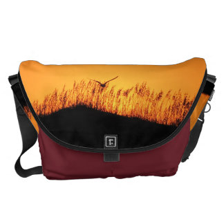 Tybee Island, Florida Sunset Messenger Bag