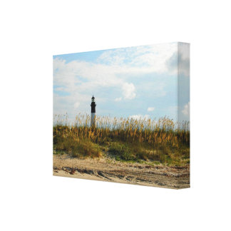 Tybee Island Georgia beach Canvas Print