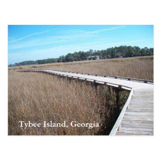 Tybee Island Georgia GA Postcard Photograph