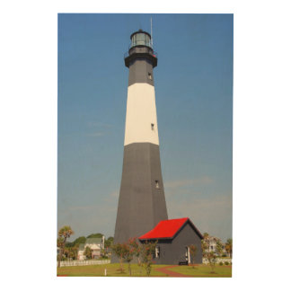 Tybee Island Georgia Lighthouse Wood Prints