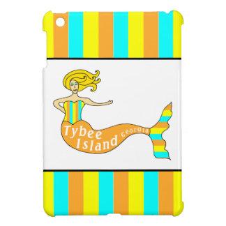 Tybee Island Georgia Mermaid iPad Mini Cover