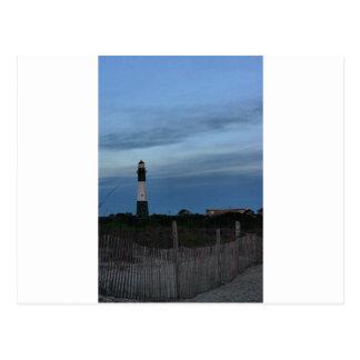 Tybee Island Light House Savannah, GA Postcard