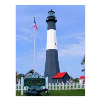 Tybee Island Light Station Postcard