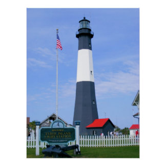 Tybee Island Light Station Posters