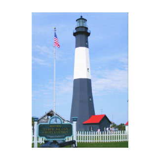 Tybee Island Lighthouse Gallery Wrapped Canvas