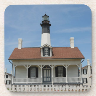Tybee Island Lighthouse Drink Coaster