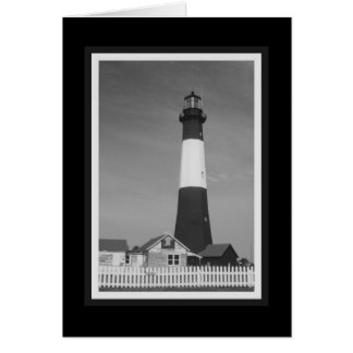 """""""Tybee Island Lighthouse"""" Note Card"""