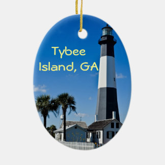 Tybee Island Lighthouse Ornament