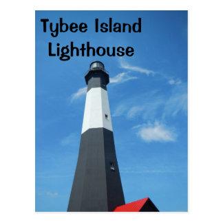 Tybee Island Lighthouse Postcard