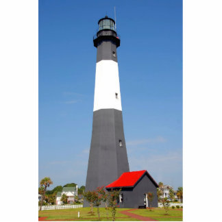 Tybee Island Lighthouse Standing Photo Sculpture