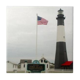 Tybee Island Lighthouse Station tile
