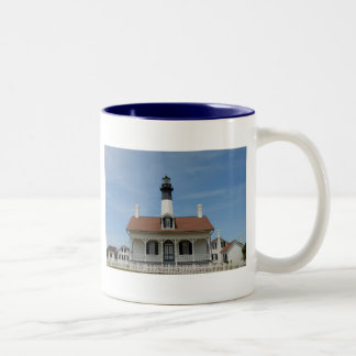 Tybee Island Lighthouse Two-Tone Mug