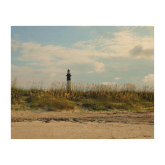 Tybee Island Lighthouse Wood Canvases
