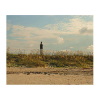 Tybee Island Lighthouse Wood Prints