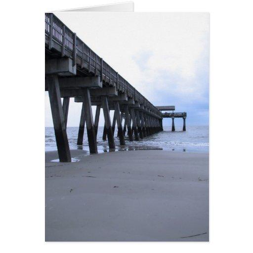 Tybee Island Pier Cards
