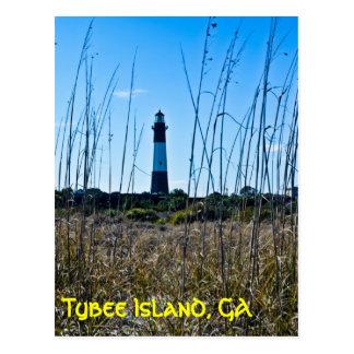 Tybee Island Postcard