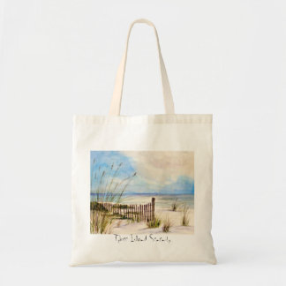 Tybee Island Serenity Tote Budget Tote Bag