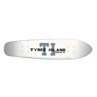 Tybee Island Custom Skateboard