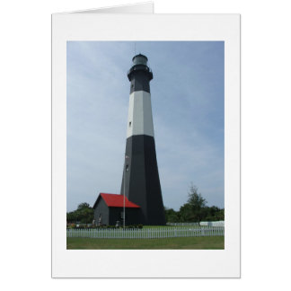 Tybee Lighthouse: Tybee Island, Georgia Greeting Card