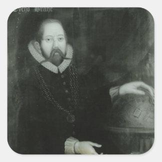 Tycho Brahe Square Sticker
