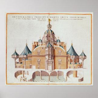 Tycho Brahe's observatory Uraniborg Poster