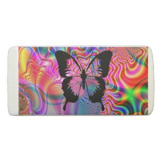 Tye Dye Butterfly Eraser