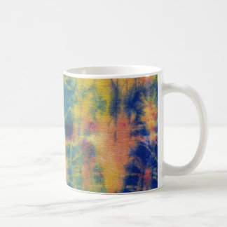 Tye Dye Composition #5 by Michael Moffa Basic White Mug
