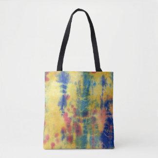 Tye Dye Composition #5 by Michael Moffa Tote Bag