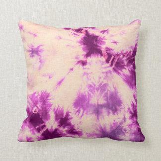 Tye Dye Composition #7 by Michael Moffa Throw Cushions