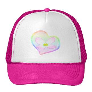 Tye Dye Heart Trucker Hat