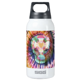 Tye Dye Skull 0.3 Litre Insulated SIGG Thermos Water Bottle