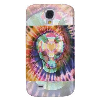 Tye Dye Skull Galaxy S4 Case