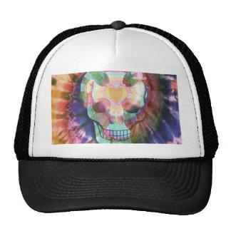 Tye Dye Skull Trucker Hat