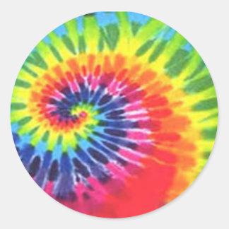 Tye Dye sticker!!! Round Sticker