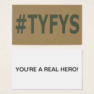 #TYFYS Business Cards