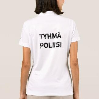 tyhmä  poliisi - stupid police in Finnish Polo T-shirt