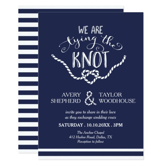 unique tying the knot wedding invitation and 16 tying knot wedding invitations