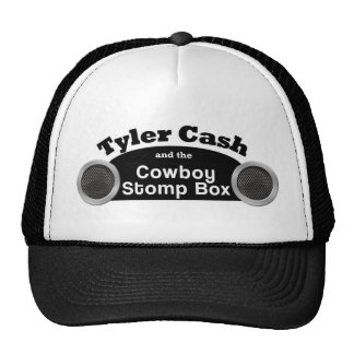 Tyler Cash and the Cowboy Stomp Box Trucker Hat