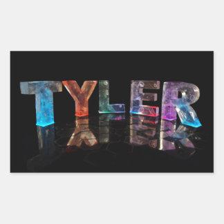 Tyler name sticker