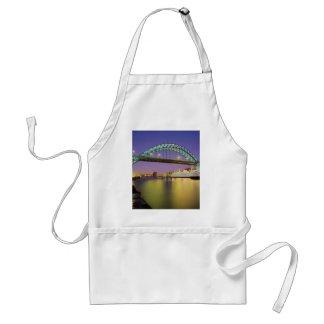 Tyne Bridge, Newcastle-Upon-Tyne, England Standard Apron