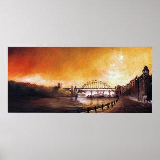 Tyne Bridge Newcastle upon Tyne Print
