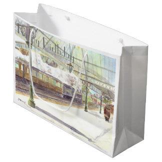 Tynemouth Station birthday gift bag