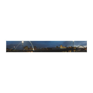 Tyneside Panorama Canvas Print