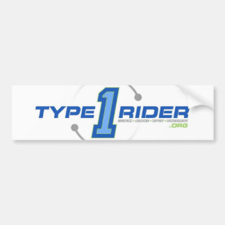 Type1Rider Logo Bumper Sticker