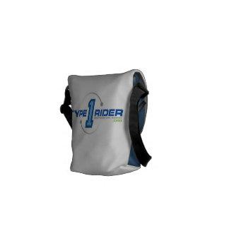 Type1Rider Logo Small Messenger Bag