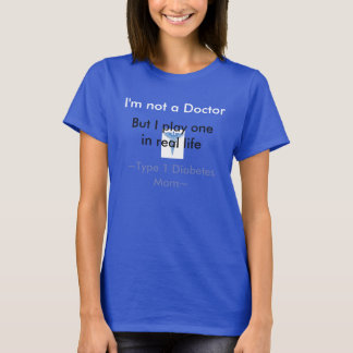 Type 1 Diabetes Mum T-Shirt