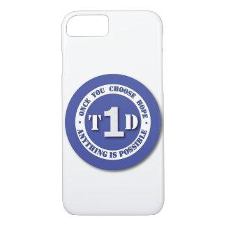 Type 1 Diabetes Shield Phone Case