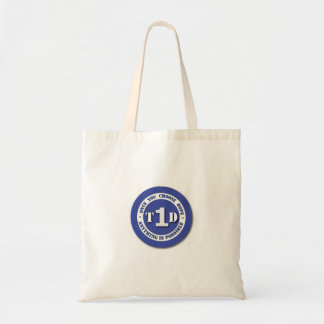Type 1 Diabetes Shield Tote Bag